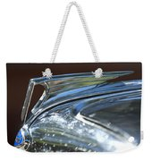 1935 Ford V8 Hood Ornament Weekender Tote Bag