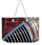 1935 Plymouth Hood Ornament Weekender Tote Bag