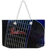 1935 Pontiac 2 Door Sedan Grill Logo Weekender Tote Bag