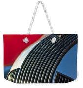 1935 Pontiac Sedan Hood Ornament Weekender Tote Bag