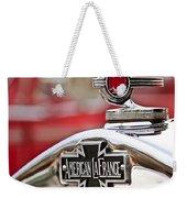 1936 American Lafrance Fire Truck Hood Ornament Weekender Tote Bag by Jill Reger