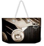 1936 Bugatti Type 57s Corsica Tourer Grille Emblem -1673s Weekender Tote Bag