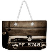 1936 Bugatti Type 57s Corsica Tourer License Plate -0067s Weekender Tote Bag