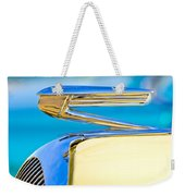 1936 Buick 40 Series Hood Ornament Weekender Tote Bag