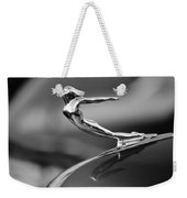 1936 Cadillac Hood Ornament 3 Weekender Tote Bag