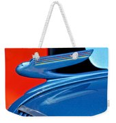 1936 Chevrolet Hood Ornament 2 Weekender Tote Bag