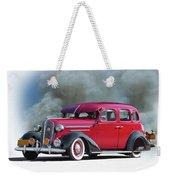 1936 Chevrolet Master Deluxe Sedan Weekender Tote Bag