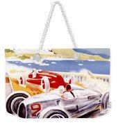 1936 F1 Monaco Grand Prix  Weekender Tote Bag by Georgia Fowler