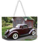 1936 Ford 3-window Weekender Tote Bag
