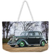 1936 Ford Deluxe Sedan I Weekender Tote Bag