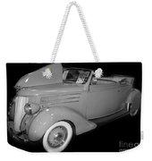 1936 Ford Rumble Seat Cabriolet  Weekender Tote Bag