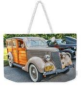 1936 Ford V8 Woody Station Wagon Weekender Tote Bag