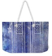 1936 Gas Pump Patent Blue Weekender Tote Bag
