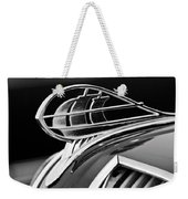 1936 Plymouth Sedan Hood Ornament 2 Weekender Tote Bag