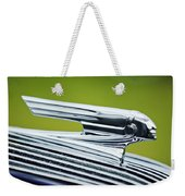 1936 Pontiac Hood Ornament 3 Weekender Tote Bag
