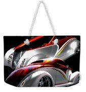 1936 Striped Coupe Weekender Tote Bag