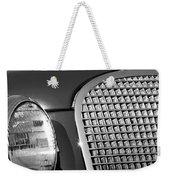 1937 Cadillac V8 Hood Ornament 3 Weekender Tote Bag by Jill Reger