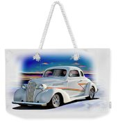 1937 Chevrolet Coupe 'accent Graphics' Weekender Tote Bag