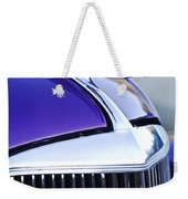 1937 Chevrolet Hood Ornament 2 Weekender Tote Bag