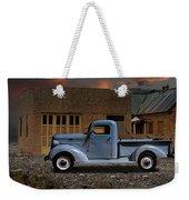 1937 Chevy Pickup Truck Weekender Tote Bag