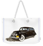 1937 Chrysler Airflow  Weekender Tote Bag