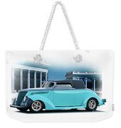 1937 Ford 'classic' Cabriolet Weekender Tote Bag