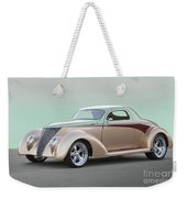 1937 Ford 'high End' Coupe I Weekender Tote Bag