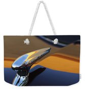 1937 Ford Hood Ornament 3 Weekender Tote Bag