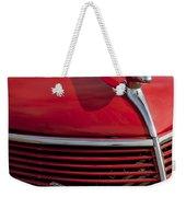 1937 Ford Hood Ornament Weekender Tote Bag