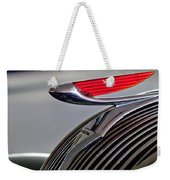 1937 Hudson Terraplane Sedan Hood Ornament Weekender Tote Bag