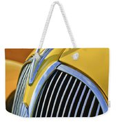 1937 Plymouth Hood Ornament 2 Weekender Tote Bag