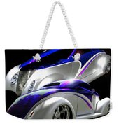 1937 Striped Coupe Weekender Tote Bag