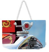 1938 American Lafrance Fire Truck Hood Ornament Weekender Tote Bag