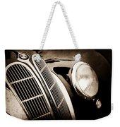1938 Bmw 327-8 Cabriolet Grille Emblem -1526s Weekender Tote Bag