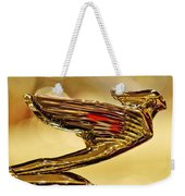 1938 Cadillac V-16 Sedan Hood Ornament 2 Weekender Tote Bag