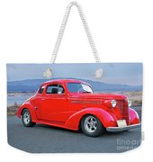 1938 Chevrolet 'all Business. Coupe Weekender Tote Bag