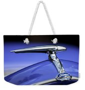 1938 Ford Coupe Hood Ornament Weekender Tote Bag
