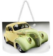 1938 Hot Rod Ford Coupe Weekender Tote Bag