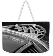 1938 Plymouth Hood Ornament 2 Weekender Tote Bag by Jill Reger