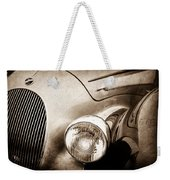 1938 Talbot-lago 150c Ss Figoni And Falaschi Cabriolet Headlight - Emblem -1554s Weekender Tote Bag