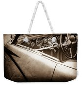 1938 Talbot-lago 150c Ss Figoni And Falaschi Cabriolet Steering Wheel -1561s Weekender Tote Bag
