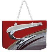 1938 Willys Aftermarket Hood Ornament Weekender Tote Bag