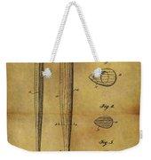 1939 Baseball Bat Patent Weekender Tote Bag