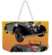 1939 Bentley Drop Head Coupe Weekender Tote Bag