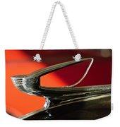 1939 Chevrolet Hood Ornament 2 Weekender Tote Bag