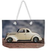 1939 Chevrolet White Coupe Weekender Tote Bag