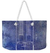 1939 Fire Truck Patent Blue Weekender Tote Bag