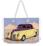 1939 Ford Deluxe Street Rod Weekender Tote Bag