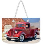 1939 Ford 'stake Bed' Pickup Truck I Weekender Tote Bag