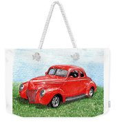1939 Ford Standard Coupe Weekender Tote Bag